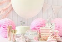 Baby Shower Pink Theme / Pink Theme ideas! Pink Party cake ideas, Pink dessert table, Pink Party decorations and supplies, Invitations and Favors for a memorable Pink baby shower party, games, FREE party printables @ www.babyshowerideas4U.com
