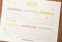 DIY. Lists / Calendars, Lists, recipe cards, chore list and more