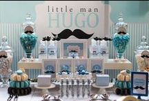 Baby Shower Dashing Little Man Theme / Dashing little Man Theme ideas! Little Man Party cake ideas, Little Man dessert table, Little Man Party decorations and supplies, Invitations and Favors for a memorable Little Man baby shower party, games, FREE party printables @ www.babyshowerideas4U.com  Shop for Little Man Supplies: http://www.babyshowerideas4u.com/dashing-little-man/