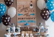 Baby Shower Milk Theme / Milkaholic Baby Shower Theme ideas! Milk Party cake ideas, Milkaholic dessert table