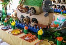 Baby Shower Noah's Arc Theme Inspirations / Noah's Arc Theme baby shower ideas, Throw a memorable baby shower with great inspirations, adorable baby shower decorations, themes, diaper cakes, invitations, favors, games, FREE printables  @ www.babyshowerideas4U.com