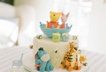 Baby Shower Winnie The Pooh Inspirations / Throw a memorable baby shower with great inspirations, adorable baby shower decorations, themes, diaper cakes, invitations, favors, games, FREE printables  @ www.babyshowerideas4U.com