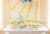 Sunshine Baby Shower Inspirations / You are my sunshine baby shower ideas, Throw a memorable baby shower with great inspirations, adorable baby shower decorations, themes, diaper cakes, invitations, favors, games, FREE printables  @ www.babyshowerideas4U.com