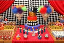 Circus Party Ideas / Circus Party Ideas ❤ ❤ ❤   For Birthday Party Ideas : www.birthdaypartyideas4u.com  ❤ ❤ ❤   For  FREE Printable Games, Decorations : www.magicalprintable.com/freebies  ❤ ❤ ❤