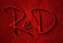 RED ... RED ... RED .... / I love RED ...... the colour RED, makes me SMILE ..... :) / by Denise Ridge