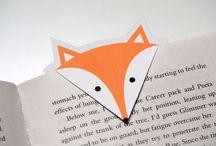 DIY. Bookmarks / So many ideas I love it!