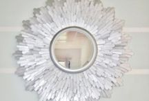 DIY. Mirrors / There are so many mirror ideas it ended its own board.