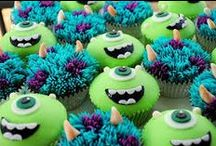 Monsters Inc Party Ideas / Monsters Inc Party Ideas ❤ ❤ ❤   For Birthday Party Ideas : www.birthdaypartyideas4u.com  ❤ ❤ ❤   For  FREE Printable Games, Decorations : www.magicalprintable.com/freebies  ❤ ❤ ❤