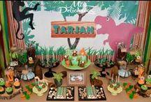 Dinosaur Party Ideas / ❤ ❤ ❤   For Birthday Party Ideas : www.birthdaypartyideas4u.com  ❤ ❤ ❤   For  FREE Printable Games, Decorations : www.magicalprintable.com/freebies  ❤ ❤ ❤
