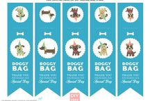 DIY. Doggy Party / Ideas for Maya's Doggie Birthday party