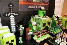 Minecraft Party ideas / Minecraft Party ideas