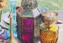East meets West / Moroccan and Eastern vintage fusion