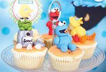 Sesame Street Party Ideas / ❤ ❤ ❤   For Birthday Party Ideas : www.birthdaypartyideas4u.com  ❤ ❤ ❤   For  FREE Printable Games, Decorations : www.magicalprintable.com/freebies  ❤ ❤ ❤