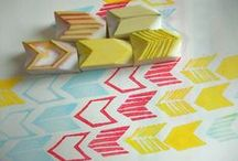 DIY. Stamps / How to make and use stamps