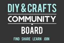 DIY & Craft Community Board / Don't you just love DIY & Crafts! Find free tutorials, how-tos, lessons, printables, party stuff, DIY projects and more. If it's not here then we aren't sharing enough. Check back often. We're posting great new DIYs every day.  To be invited to this board, please message me.   Note: If you spam this board you will be removed and so will your pins.
