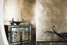 Entrance Inspiration / Misha handmade wallpaper in entrances.