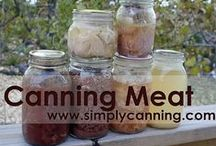 Preserve  Meat / About how to can meat pins are welcome. If you pin to this board, we may move it. It will be moved to the specific subject of your pin or deleted if it is a duplicate or advertising. This board is a group board on which the community is welcome to pin. You can request the specific boards we have moved your pin and we will send it to you and we both can pin according to our common interest.  Only family friendly pins & no political, pornography, or religion pins.