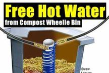 Heat Compost Hot Water / How to have hot water and be off the grid