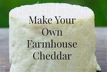Food Cheese, Butter, & Yogurt  Making / How to make cheese,  butter, & yogurt  / by Sustainable Living Center