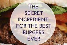 Sandwich Burgers / Hamburgers