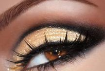 """What Sparkly Eyes You Have! / Part of the fun of competitions is the dramatic """"make-over""""... and the eyes have it!"""