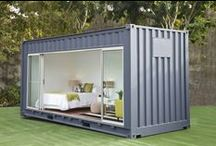 Shelter Shipping Container / Uses of shipping containers