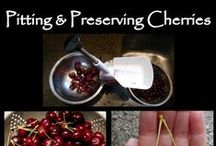 Preserve  Cherries and Pitters / How to process and can cherries pins are welcome. If you pin to this board, we may move it. It will be moved to the specific subject of your pin or deleted if it is a duplicate or advertising. This board is a group board on which the community is welcome to pin. You can request the specific boards we have moved your pin and we will send it to you and we both can pin according to our common interest.  Only family friendly pins & no political, pornography, or religion pins.