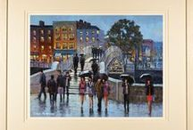 Paintings of Dublin, Ireland / Paintings and limited edition prints of Dublin, Ireland