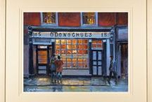 Paintings of Dublin Pubs and Cafes / Paintings and limited edition prints of the pubs and bars of Dublin, Ireland