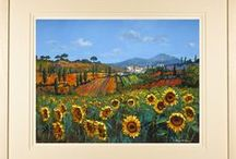 Paintings of Italy / Paintings and limited edition prints of the landscape and places of Italy