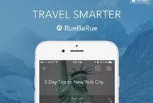 RueBaRue iPhone App / RueBaRue launches its iPhone app to take the stress out of vacation planning with easy-to-create itineraries that you can review and revise on the go. It's vacation inspiration at your fingertips.