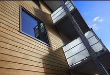 Accoya® brandhæmmende / Brandhæmmende facadebeklædning i Accoya® til boligbyggeri på Hillerødsholmsallé.