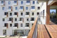 Bangkirai facadelister / Keflico A/S har leveret Bangkirai terrasse og facadelister til dette smukke projekt - Plejehjemmet Akaciegården.