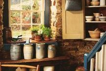 country & cottage style / All things country, rustic, shabby I love
