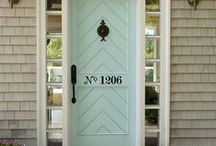 Welkom! Bienvenue! Velkommen! C'mon in! / Anything and everything to do with the front door.