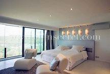 Inspirations déco / Des jolis salons, chambres ou salles de bain pour s'inspirer....
