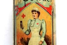 Medical milieu / medicinal curiosities, tools of the trade, apothecaries, vintage items, charts, meds in ads, posters, everything medical.