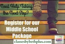 Middle School / Appropriate for students from 6-8th grade