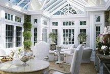 Wohnen unter Glas / Herrliche Wintergärten