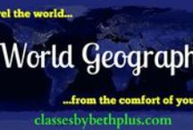 CBB+ World Geography / Resource ideas for World Geography courses including culture, languages and other topics. Primarily for middle or high school level, but some will be all ages or younger ages.