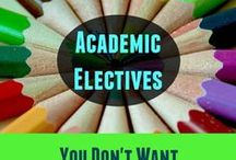 High School Electives / Resources for non-required courses such as Nutrition, Music, Fine Arts and other high school elective course