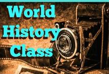 CBB+ World History / Resource ideas World History courses.  Primarily aimed at middle or high school ages