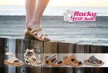 Summer Solestice Sandals / Stylish comfort sandals to keep you cool and collected in the heat of summer featuring the 4EurSole Sandal Comfort System. #WhatFeedsEurSole
