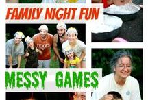 Family Fun Night Ideas / Ideas for Family Fun Night including Educational Board Games, Movies, and Road Trips