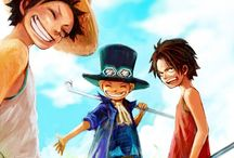 One Piece / Eternal love to Portgas D. Ace, always my fav.  [R.I.P. ♥]