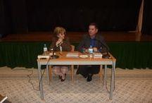 Ana Díez y Miguel Artola Presentación literaria: Atlántida. Entre el mito y la historia - 28/02/13