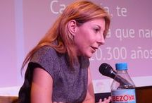 Eva García Sáez Presentación literaria.: La saga de los longevos. Centro Imaginalia - 26/10/12