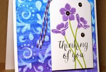 cards - backgrounds / by Melody D