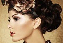 Brautfirsuren  / bridal hairstyles