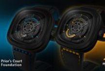 SevenFriday / Een stoer horlogemerk, met automatische uurwerken,